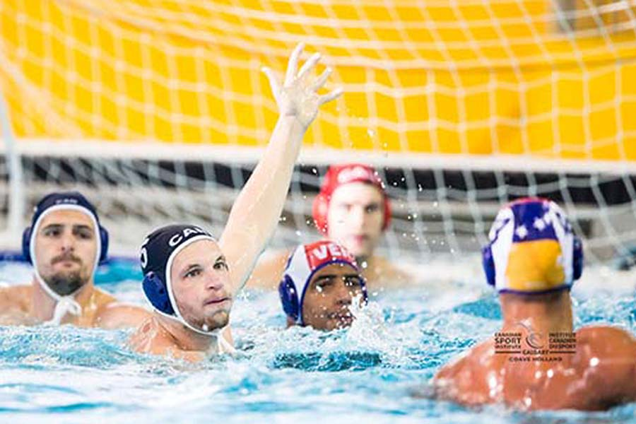 Men's Water Polo Team Buoyed by New Strategies