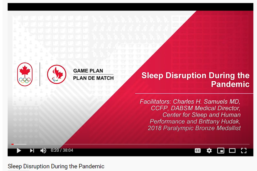 Sleep Disruption During the Pandemic
